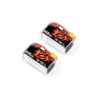 BETAFPV Povo30 リポバッテリー 850mAh 4S 75C Lipo Battery (2PCS)【XT30プラグ】【17976】